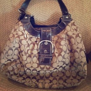 Authentic Brown Coach purse